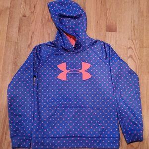 Girls under armor hoodie